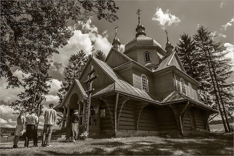Gładyszów - former greek-catholic church