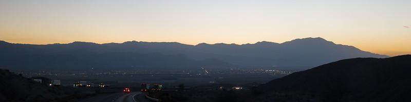 Sunset Over Indio, CA