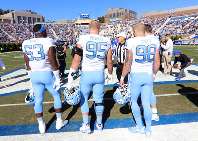Duke Blue Devils vs Carolina Tar Heels Football Photos - 11.10.18