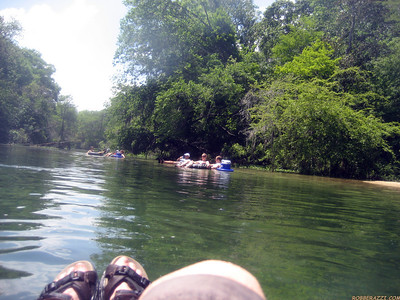 Tubin the Chipola River