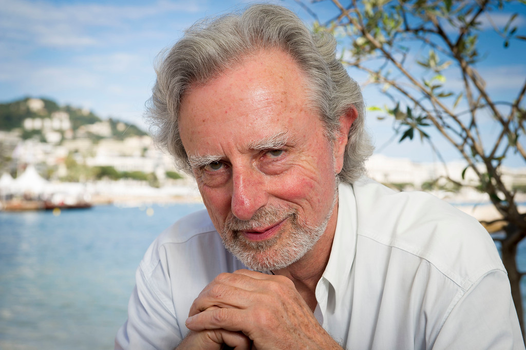 . Director Philip Kaufman, poses for photographs for the film Hemingway & Gellhorn at the 65th international film festival, in Cannes, southern France, Wednesday, May 23, 2012. (AP Photo/Jonathan Short)