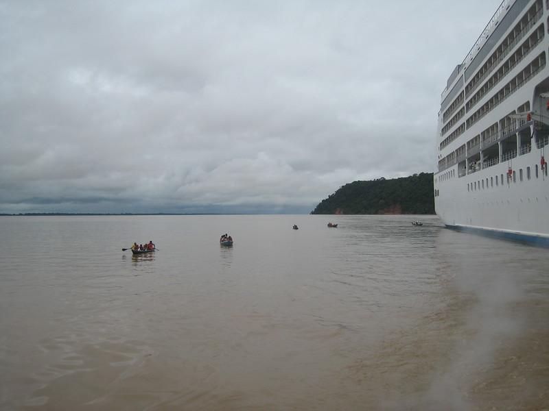 Boca de Valeria, Amazon River, Brazil