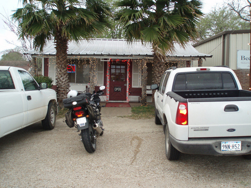 March 9, 2009 Garcia's Cafe, Bedias, Texas