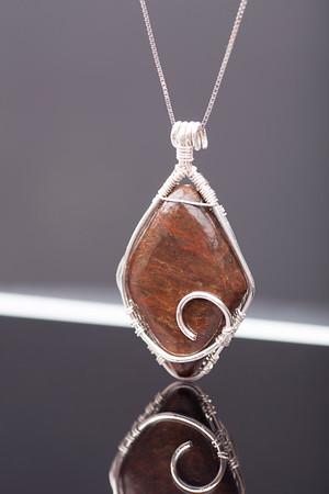 Diamond Shaped Necklace Pendant