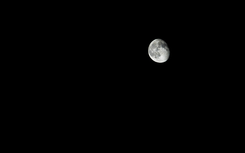89% Waning Gibbous Moon