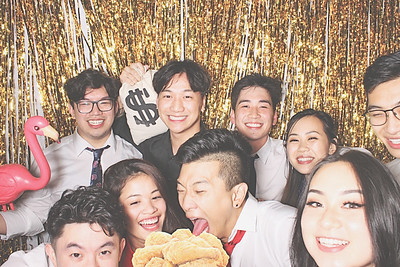 10-10-20 Atlanta Royal China Photo Booth - Thao and Daniel's Wedding - Robot Booth