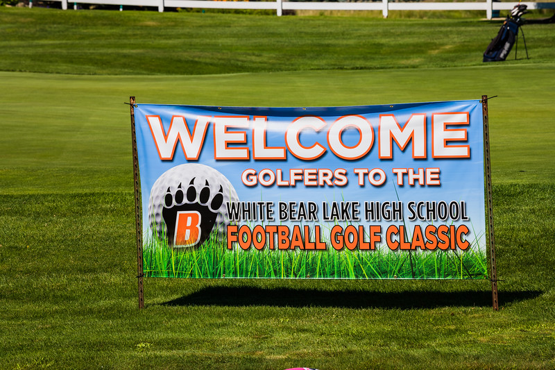 White Bear Lake Football 2nd Annual Golf Tournament 2020