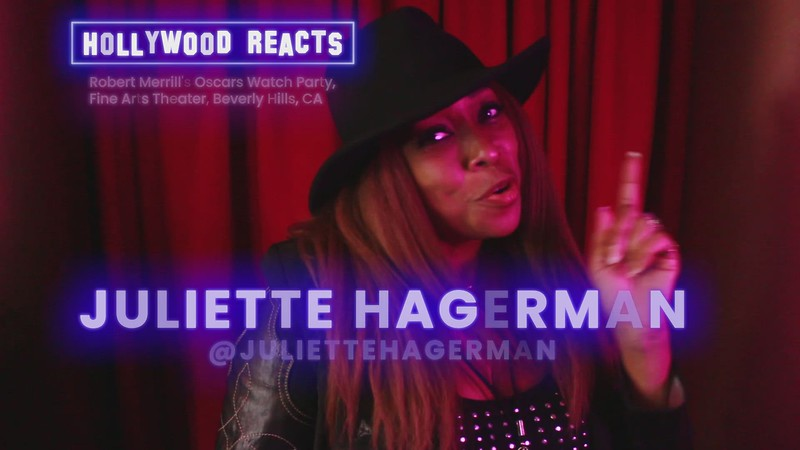 Hollywood Reacts - Juliette Hagerman