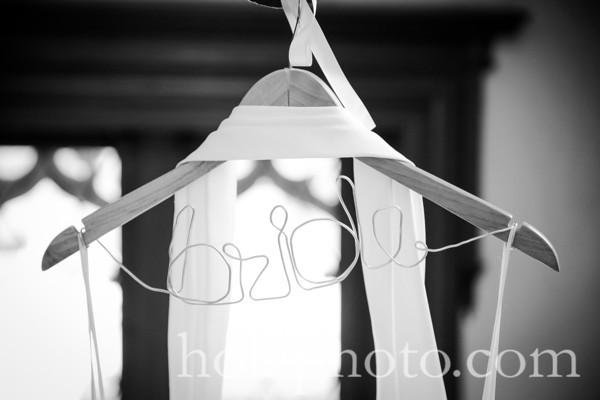 Amy & Chad B/W Wedding Photos
