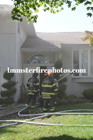 SYOSSET FD GLORIA DR HOUSE FIRE 8-22-11