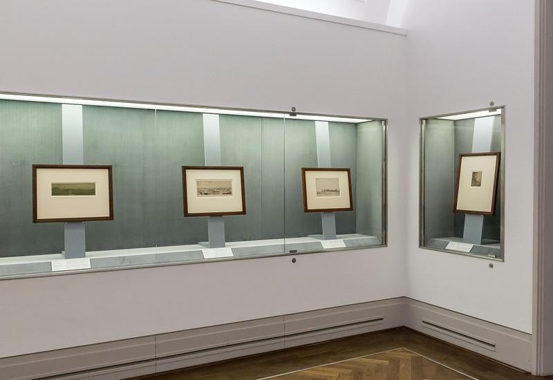 Blick in die Hercules-Seghers-Ausstellung 2013 - 2