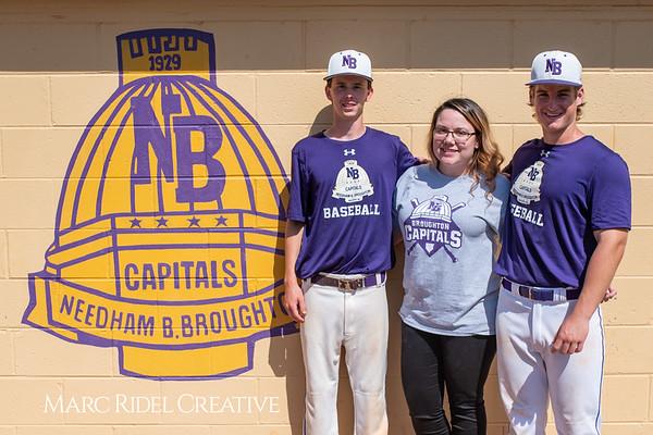Broughton varsity baseball vs Sanderson. April 24, 2019. 750_0133