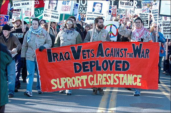 Anti-War March & Rally, January 27 2007