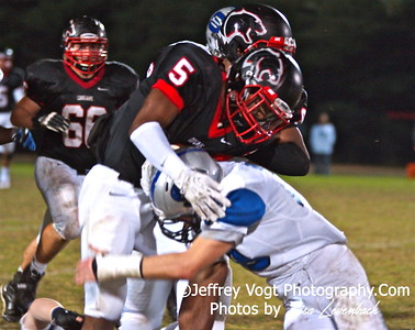 10-18-2013 Quince Orchard HS vs Sherwood HS Varsity Football, Photos by Jeffrey Vogt Photography with Lisa Levenbach