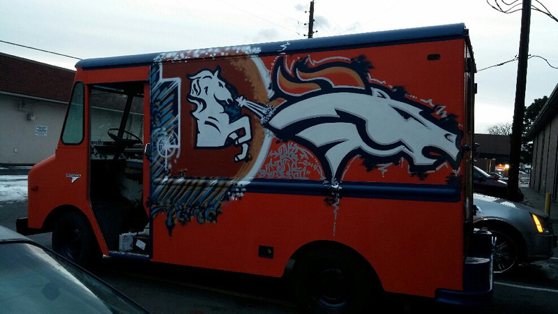 . Here is a photo of my ice cream truck. (Photo by Joe Segura)