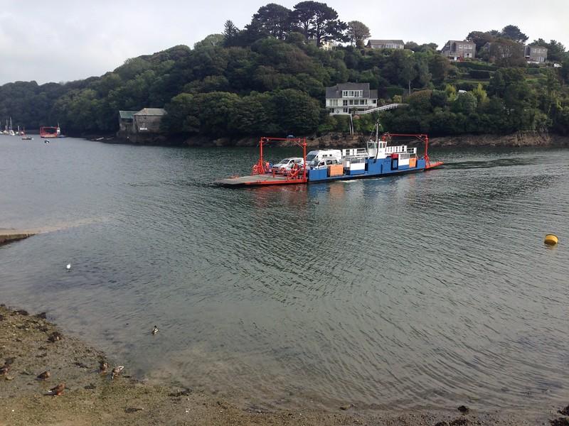 The Bodinnick to Fowey car ferry