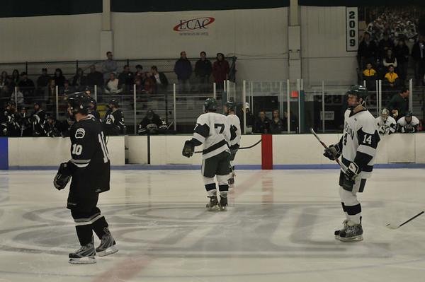 Babson Hockey  Nov 21, 2009