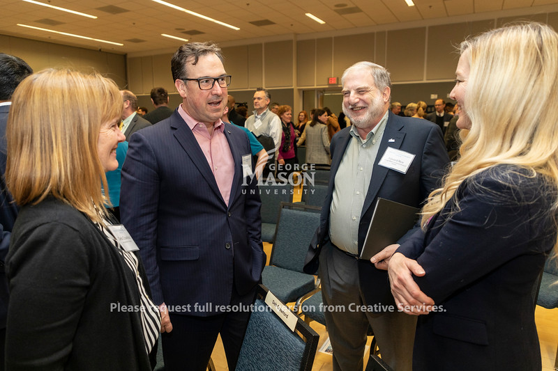 A panel discussion about Amazon's selection of Arlington for a second headquarters. Photo by Lathan Goumas/Strategic Communications