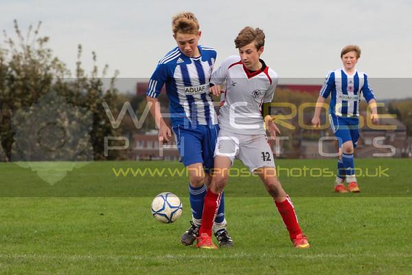 Under 14's Reds v Hemsworth Terriers  26 - 10 - 14