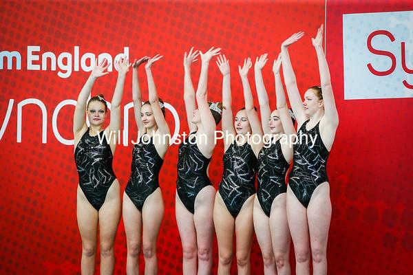Swim England Synchronised Swimming National Championships - 280419