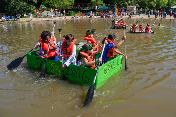 Cardboard Boat Regatta 6/18/16