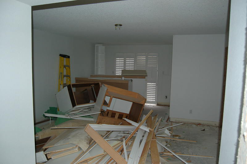 Master bedroom - Yikes!