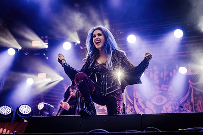 Arch Enemy Performing at Norway Rock 2019