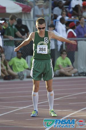 Class 3A - Running Event Finals - Boys 1600m Run