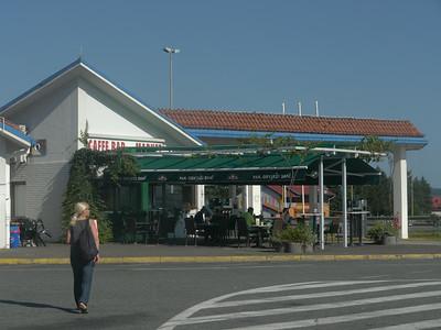19.08.14 - Tag4, Di: Raststätte bei Luzani - Sl. Brod (HR) - Belgrad (SER)