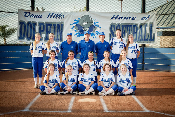 2014 Dana Hills HS Softball