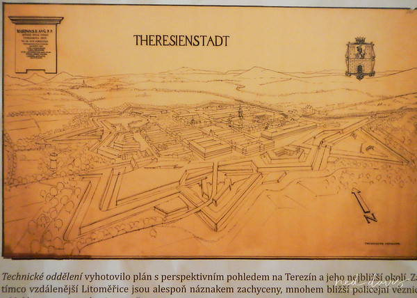 Theresienstadt Ghetto - Terezín, Czech Republic