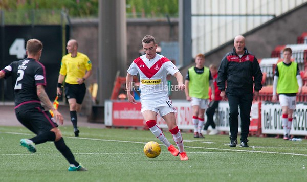 Airdrieonians v Arbroath 12 8 17