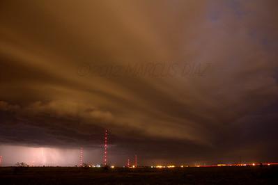 September 6 Amarillo, TX Shelf Cloud