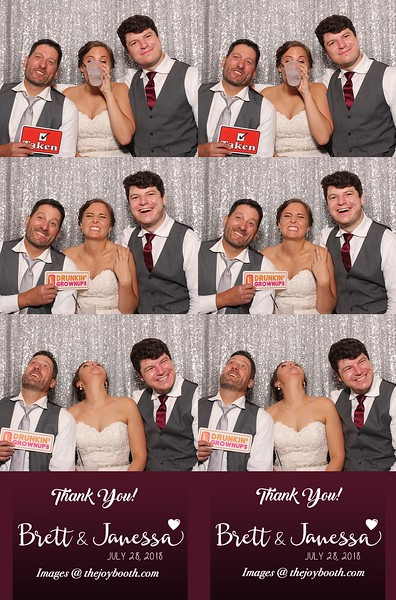 Janessa & Brett's Wedding 7-28-2018 PRINTS