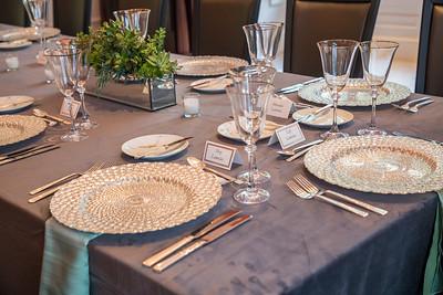 Lamelas Dinner Setup - September 5, 2019