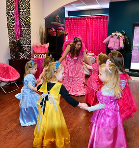 Bryn's Princess Party