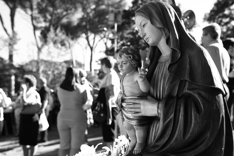 statua della Madonna di Ceri
