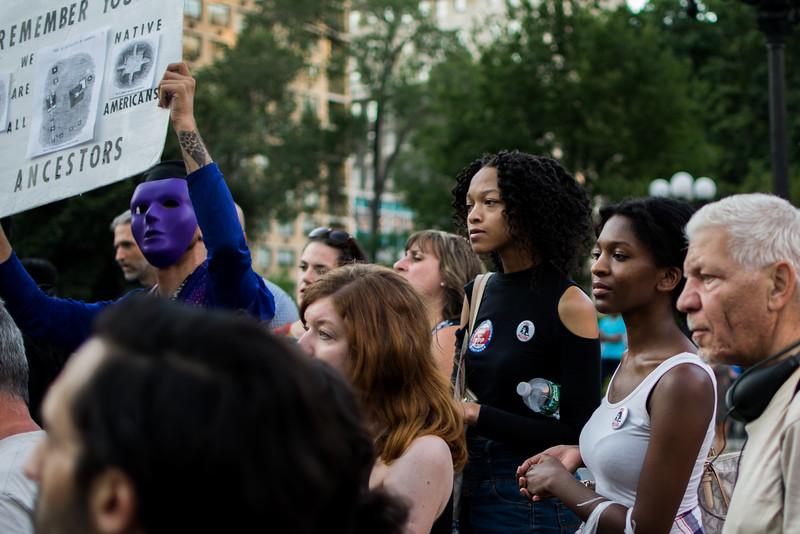 Protest in Union Square Park