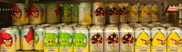Angry Birds Colas