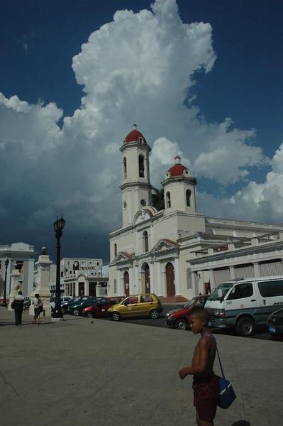 Cienfuegos main square - Leslie Rowley