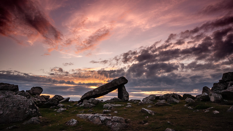 Arthur's Quoit on St David's Head