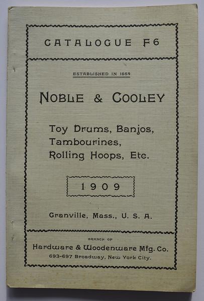 1909 Noble & Cooley Catalogue F6
