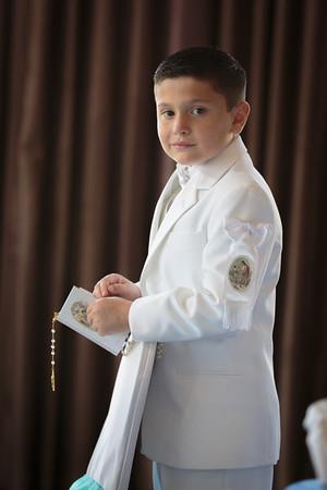 Gabriel's First Holy Communion