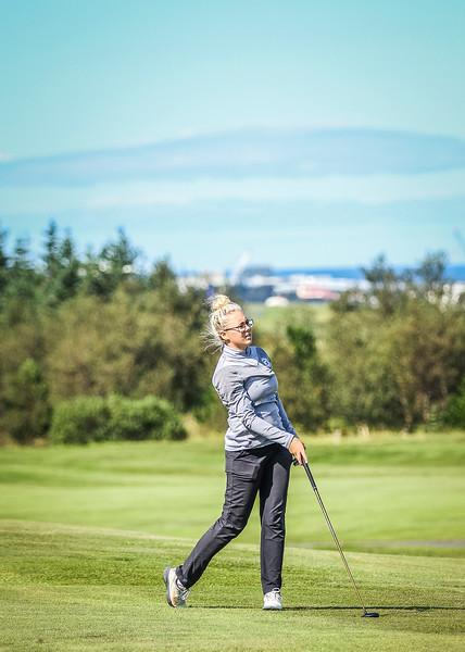 GM, Kristín Sól Guðmundsdóttir Íslandsmót í golfi 2019 - Grafarholt 2. keppnisdagur Mynd: seth@golf.is