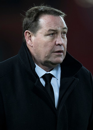 Steve Hansen during game 7 of the British and Irish Lions 2017 Tour of New Zealand, the first Test match between  The All Blacks and British and Irish Lions, Eden Park, Auckland, Saturday 24th June 2017 (Photo by Kevin Booth Steve Haag Sports)  Images for social media must have consent from Steve Haag