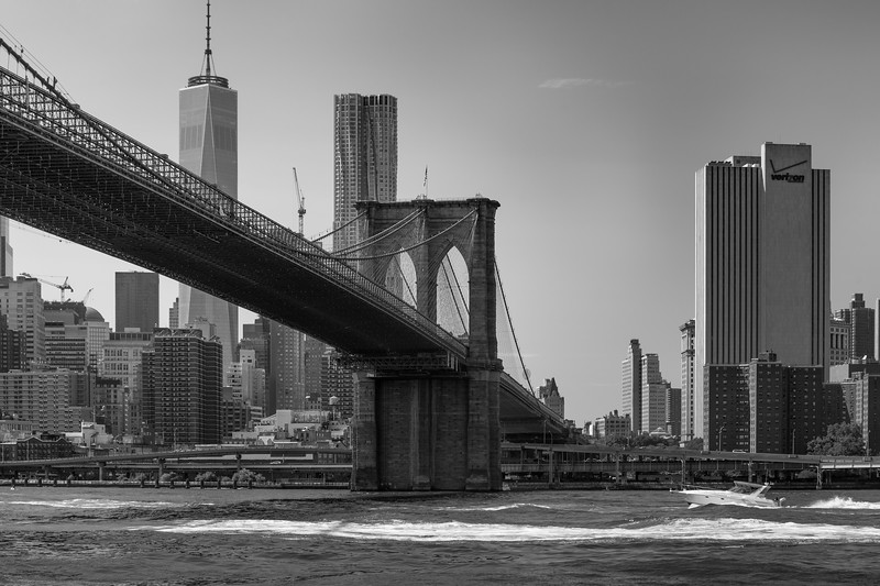 Brooklyn Bridge - New York, NY, USA - August 21, 2015