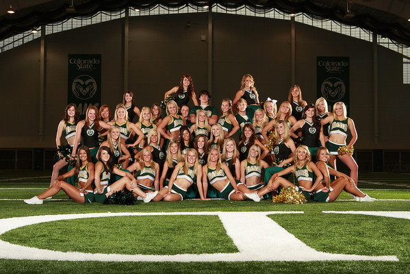CSU Cheer Team Photos 2010