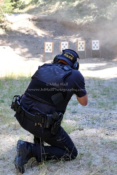 Scotts Valley Police - Firearms Training - August 11-12, 2016