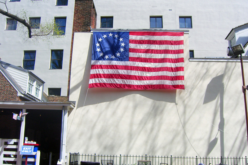 13-star flag, Philadelphia