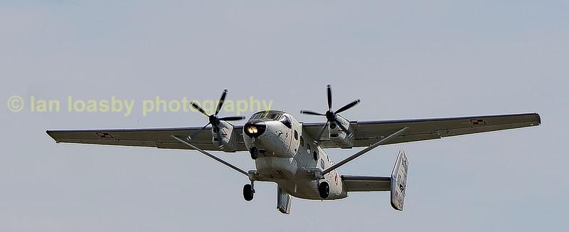 Small prop aircraft
